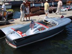 The rare and fabulous 1959 Chris-Craft Silver Arrow: one of the classics that marked the transition from wood to fiberglass boats