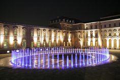 Fountain at Reggia di Venaria Reale, Venaria, near Turin, Piedmont, Italy
