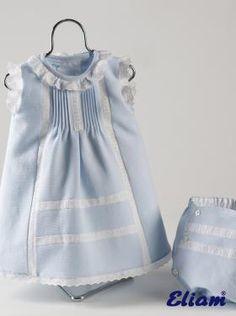 Vestido de Piqué - Productos bebé de siempre - Bebé de siempre - Tienda de ropa…