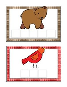 Brown Bear COLOR WORDS cards * FREE * Did I make these last year?