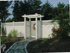 Custom Vinyl Fence Manufacturer Of ForeverVinyl Fencing Companies, Front Yard Fence, We Run, 1 Place, Custom Vinyl, Fences, New England, Backyard, Outdoor Structures