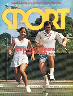 Chris & Connors: Love Match. 1974. #tennis