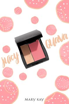 For flirty, sun-kissed cheeks, look no further than Mary Kay® Mineral Cheek Color Duo in Juicy Guava. This color and highlighter duo tints and brightens with hues that stay true all day!
