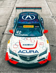 This Acura TLX-GT Race Car Has the Guts to Brawl with Ferraris