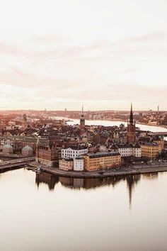 Stockholm, Sweden in autumn.