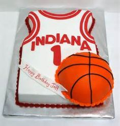 Perfect birthday cake for an Indiana Hoosiers fan.
