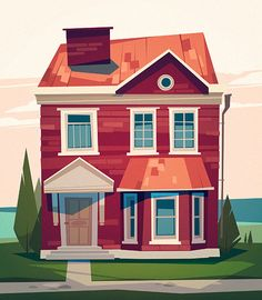 Buildings on Behance