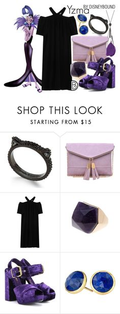 """""""Yzma"""" by leslieakay ❤ liked on Polyvore featuring Kate Spade, Urban Expressions, Paul & Joe, Spring Street, Prada, Marco Bicego, disney, disneybound and disneycharacter"""