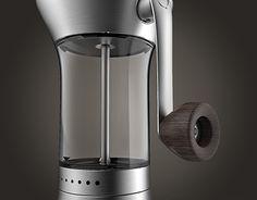 """다음 @Behance 프로젝트 확인: """"Precision Coffee Grinder"""" https://www.behance.net/gallery/23341501/Precision-Coffee-Grinder"""