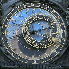 Astronomical Clock from the Old Town Hall in Prague.  Built in 1410. http://www.SeedingAbundance.com http://www.marjanb.myShaklee.com