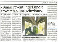 Binari roventi nell'Ennese e le dichiarazioni assurde dell'assessore regionale ai trasporti Pizzo | Comitato Pendolari Siciliani