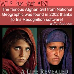 Afghan girl, before and after. the first photo was taken in 1984 in Pakistan  MORE OF WTF FACTS are coming HERE photographs, movies  and fun facts