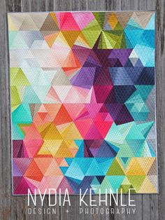 Quilts | Nydia Kehnle Tessellation 4 Quilted by Gina Pina