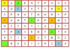 Κρυπτόλεξα, ένας διαφορετικός τρόπος να μάθουν τα παιδιά ορθογραφία Periodic Table, Blog, Periodic Table Chart, Periotic Table, Blogging