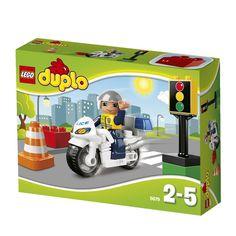 DUPLO - Moto de Policía
