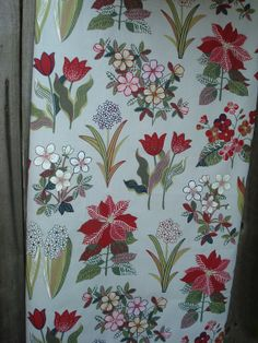 Cotton Tablecloth with Stylized Flower Motif Square by MilaStyle, $31.00