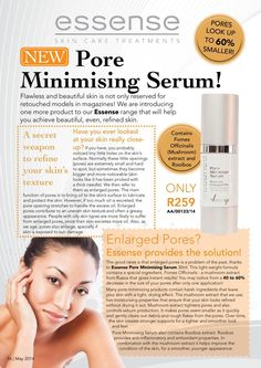 Pores are visibly minimised by after just one application of the Pore Mininising Serum Pore Minimizing Serum, Body Acne, Skin Care Treatments, Acne Scars, Along The Way, Skin Care Tips, Health And Beauty, Cake Face, Independent Consultant