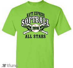 14u Katy Express All Stars - All proceeds will will help fund the team tournament fees, uniform and equipment cost.