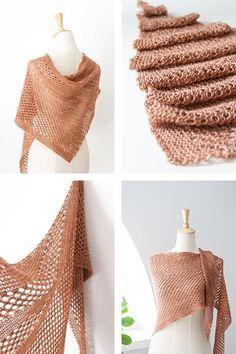 Ravelry: Summer Sky shawl with DyeForYarn Merino/Silk Fingering - knitting pattern by Janina Kallio. Shawl Patterns, Lace Patterns, Knitting Patterns, Crochet Patterns, Knitted Shawls, Crochet Scarves, Crochet Clothes, Knitting Scarves, Knit Or Crochet