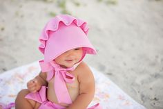 Hamptons Hot Pink Beaufort Bonnet   The Beaufort Bonnet Company