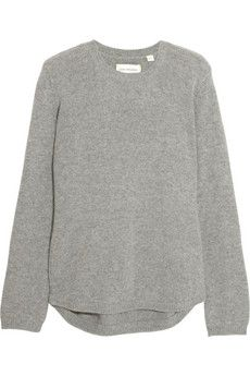 Chinti and Parker Elbow Patch cashmere sweater   NET-A-PORTER