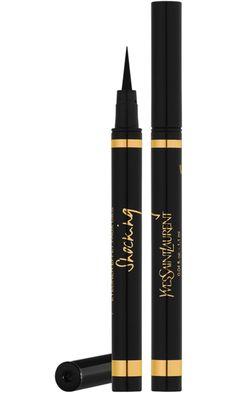 Yves Saint Laurent Eyeliner Effet Faux Cils Bold Felt-Tip Eyeliner Pen. Makes lining eyes really easy
