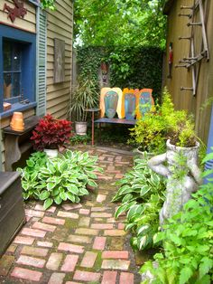 The first in a series of motorcoach garden tours sponsored by the National Garden Festival will be a tour of artists' gardens on Saturday, June 23. Found art, folk art, abstract art, architectural remnants, anything goes – even bowling ball art. Also tour the Albright- Knox Art Gallery, see the Museum District and shop in the Elmwood Village. The cost is $75 per person.