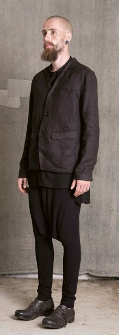 Aleksandr ManamÏs - SS15 - Drop Crotch Pant - Lookbook