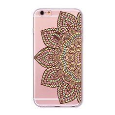Colorful Floral Paisley Flower Mandala Henna Back Case Cover for iphone 5 5s SE 6 6s fundas capa Soft Clear Mobile Phone Cases