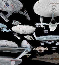 Ships of the line (Star Trek