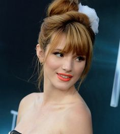 bella thorne, the host, bella thorne hair, the host premiere, spring hair