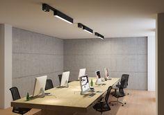 SPAZE | DARK #lighting #design Anthony Boelaert for DARK® #architecturallighting #LED #DARK #new #darling #office #spaze #color dark.be