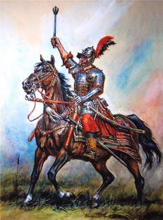 Great Polish Warriors: The Winged Hussars Part II - Weapons and Battle Tactics Military Art, Military History, Medieval Fantasy, Dark Fantasy, Poland History, Overwatch Reaper, Thirty Years' War, Great Warriors, Landsknecht