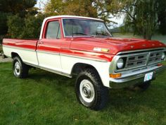 1977 F250 Highboy | 1972 ford f250 highboy sport custm 4x4 100+PICS 2 tone with a\c option ... 79 Ford Truck, Ford 4x4, Lifted Ford Trucks, Pickup Trucks, Ford Powerstroke, Classic Ford Trucks, Cool Vans, Old Fords, Ford Motor Company