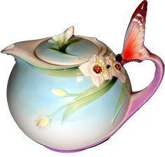 Butterfly Tea pot