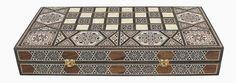 Mosaic Backgammon Box