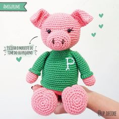 How To Crochet an Amigurumi Rabbit (mit Bildern)   Puppe häkeln ...   236x236