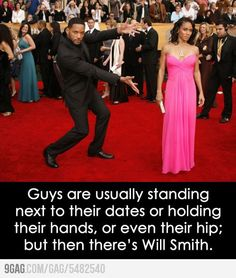 Of Will Smith and Red Carpet photo op cliches #celebrities #funny