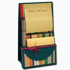 Hi guys! Here are my new Easel Sticky Note Holders.   3D EaselSticky Note Holder With Pen                     This file is approximately 3-...