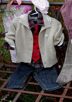 Preppy baby boy family portrait outfit Christmas by ginghamgiraffe, $35.00