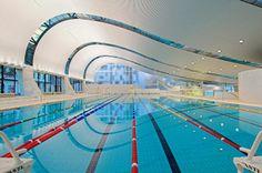 Centro Aquático Ian Thorpe   Harry Seidler & Associates   http://www.bimbon.com.br/projeto/centro_aquatico_ian_thorpe  #pool #olympics #australia #swimming