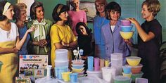 Neat Things You didn't Know about Tupperware - And one thing we're sure you do remember: The glorious retro ads.