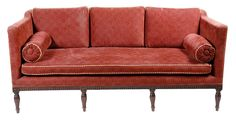 A George III style mahogany three seater settee - Lot 150 - Furniture, Works of Art & Clocks