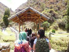 Camino hacia el alto para disfrutar de la hermosa vista que nos ofrece cucunuba.