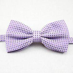 pontos dos homens de polca gravata borboleta elegante simples