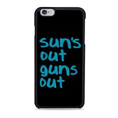 Sun'S Out Guns Out Summer Beach iPhone 6 Case