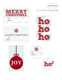 Free #Christmas Printables on iheartnaptime.net