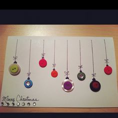 maybe i'll make homemade cards next year! Christmas Holidays, Christmas Ideas, Christmas Cards, Merry Christmas, Scrapbook Cards, Scrapbooking, Holiday Time, Tis The Season, Projects For Kids