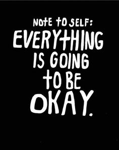 Note to self :)
