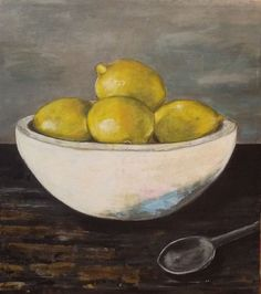 so I made lemonade. by jodihills on Etsy Lemon On Face, Vegetable Painting, Still Life Images, Lemonade, Serving Bowls, Fruit, Create, Tableware, Food